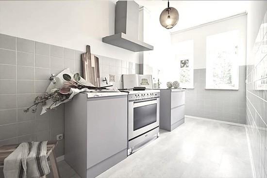 Tschangizian Home Staging con cocina de cartón reversible CUBIQZ
