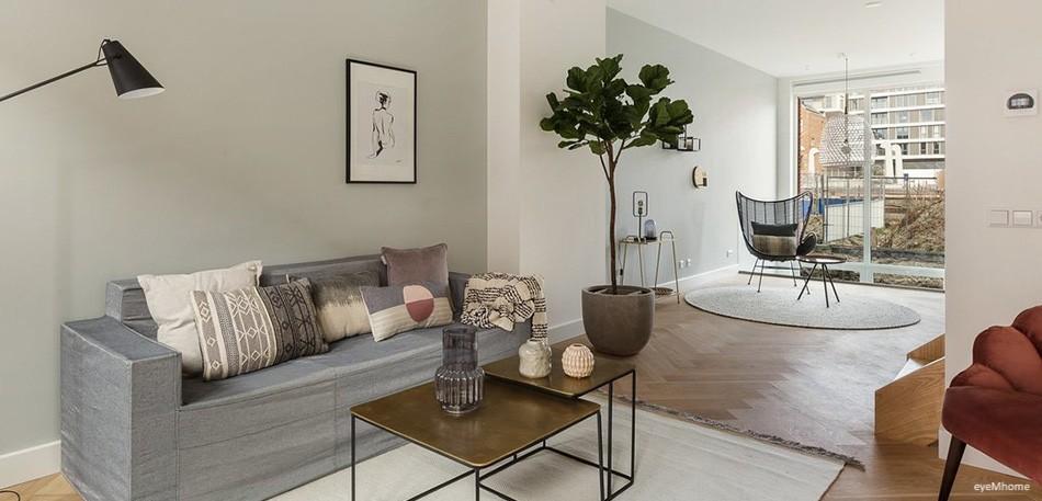 Comprar Cubiqz sofá de cartón de tres plazas para Home Staging