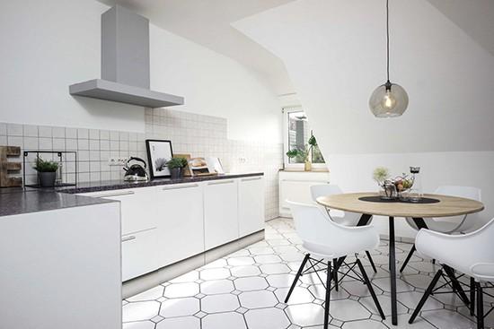 Home Staging 360 con cocina de cartón de Cubiqz basic