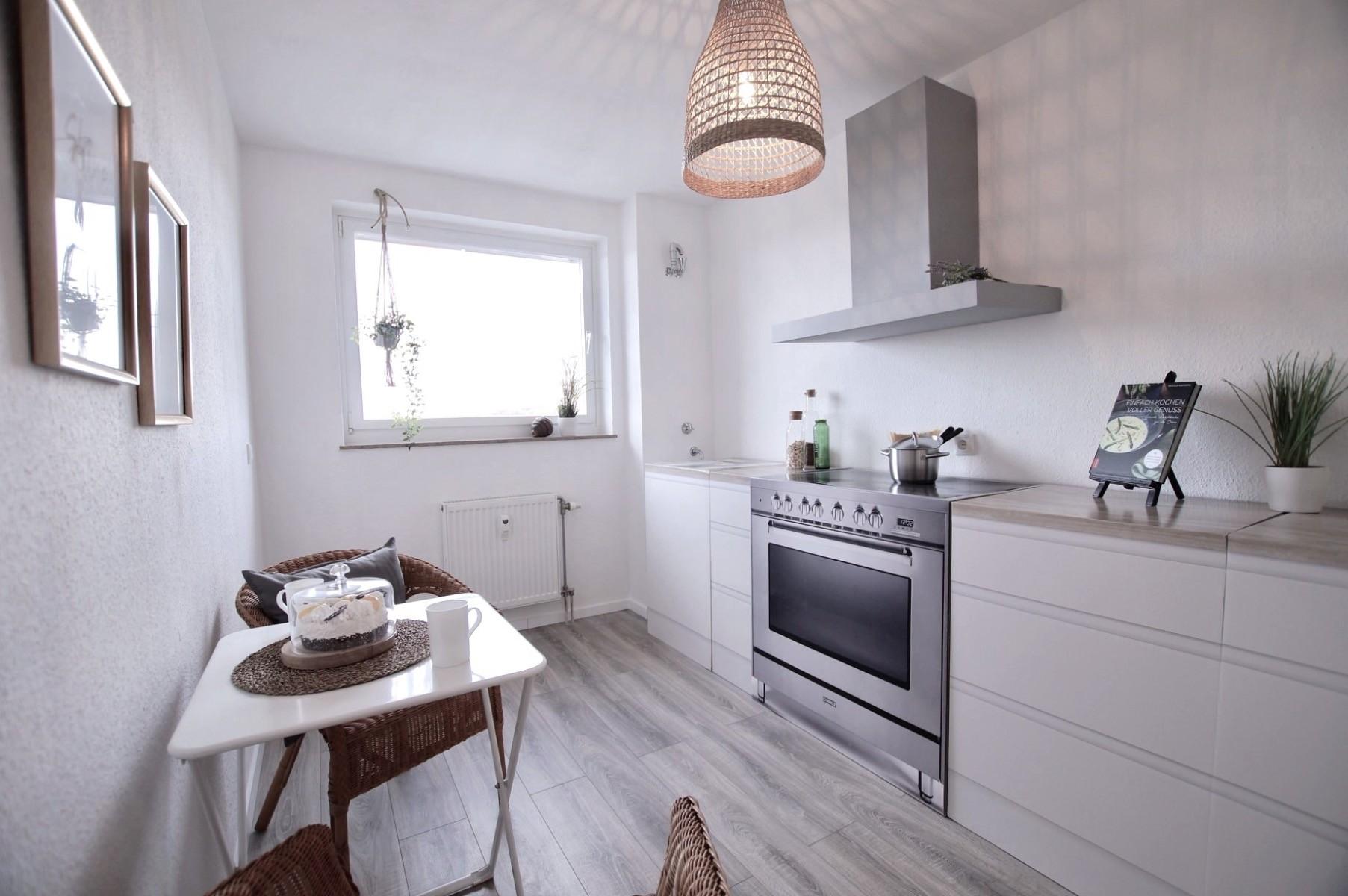 Pudda Homestaging con cocina de cartón de Cubiqz basic