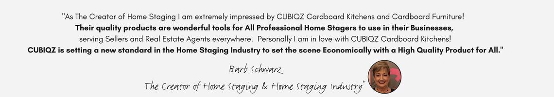 Barb Schwarz; El creador de Home Staging sobre CUBIQZ