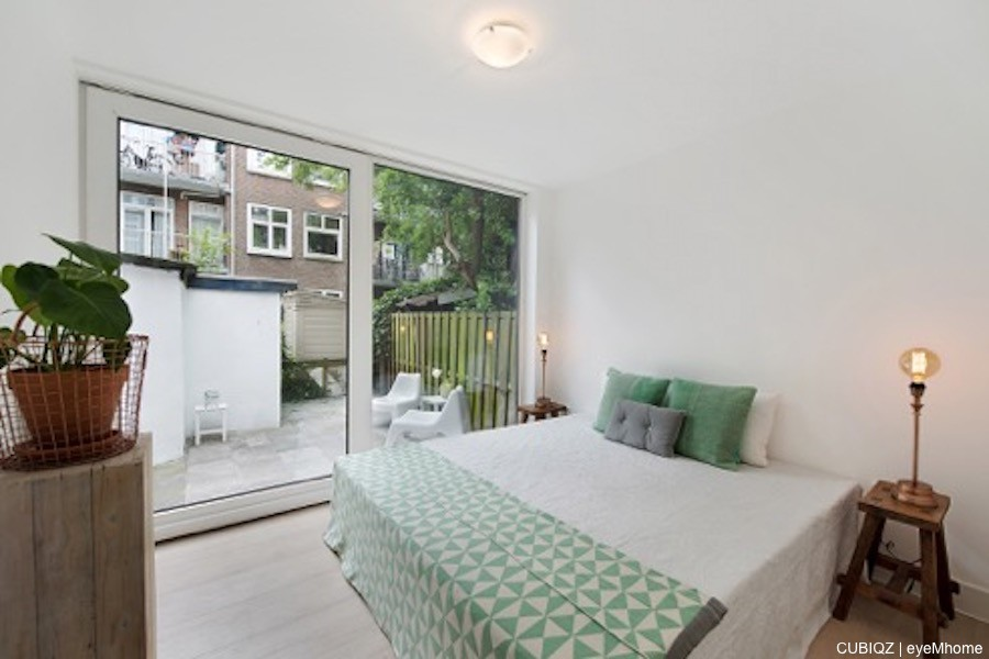 3. Home Staging con CUBIQZ cama matrimonio de cartón