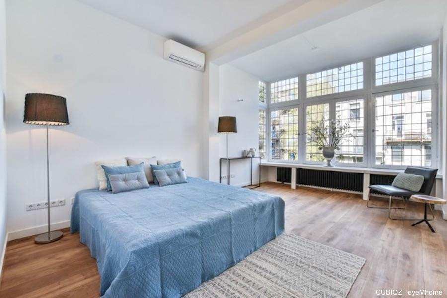 4. Home Staging con CUBIQZ cama matrimonio de cartón