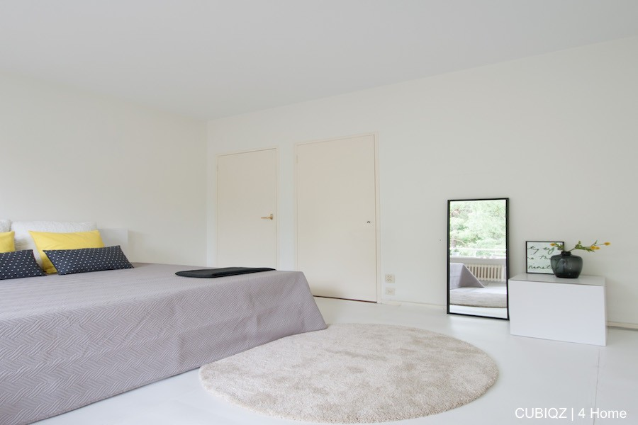 Home Staging with CUBIQZ cardboard bed