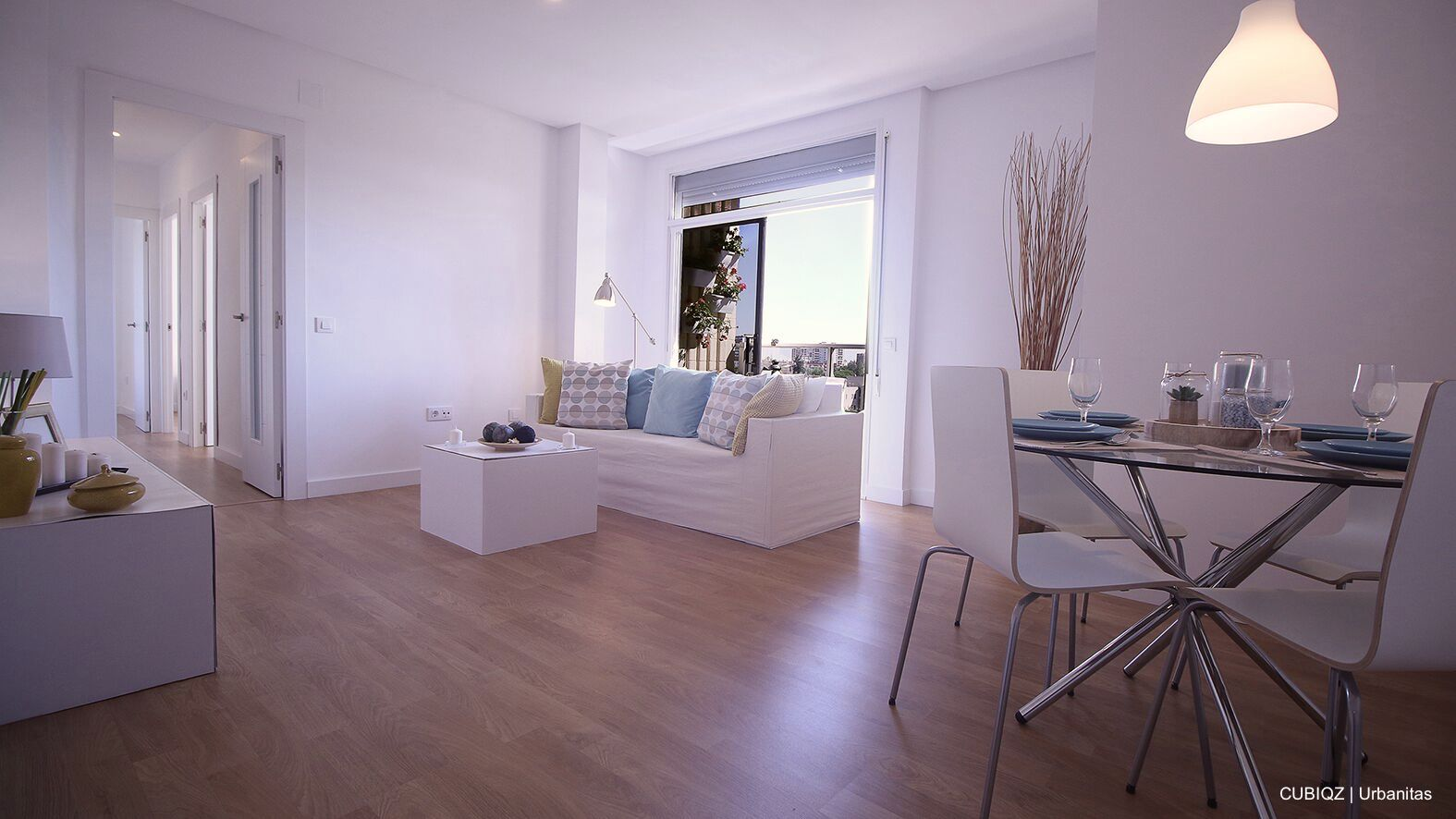 5. CUBIQZ muebles de cartón sirven para crear una puesta en escena y son ideales para la presentación de una vivienda en venta o alquiler