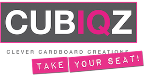 CUBIQZ LOGO TAKE YOUR SEAT