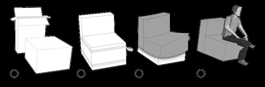 cubiqz Take Your Seat; zo werkt 't